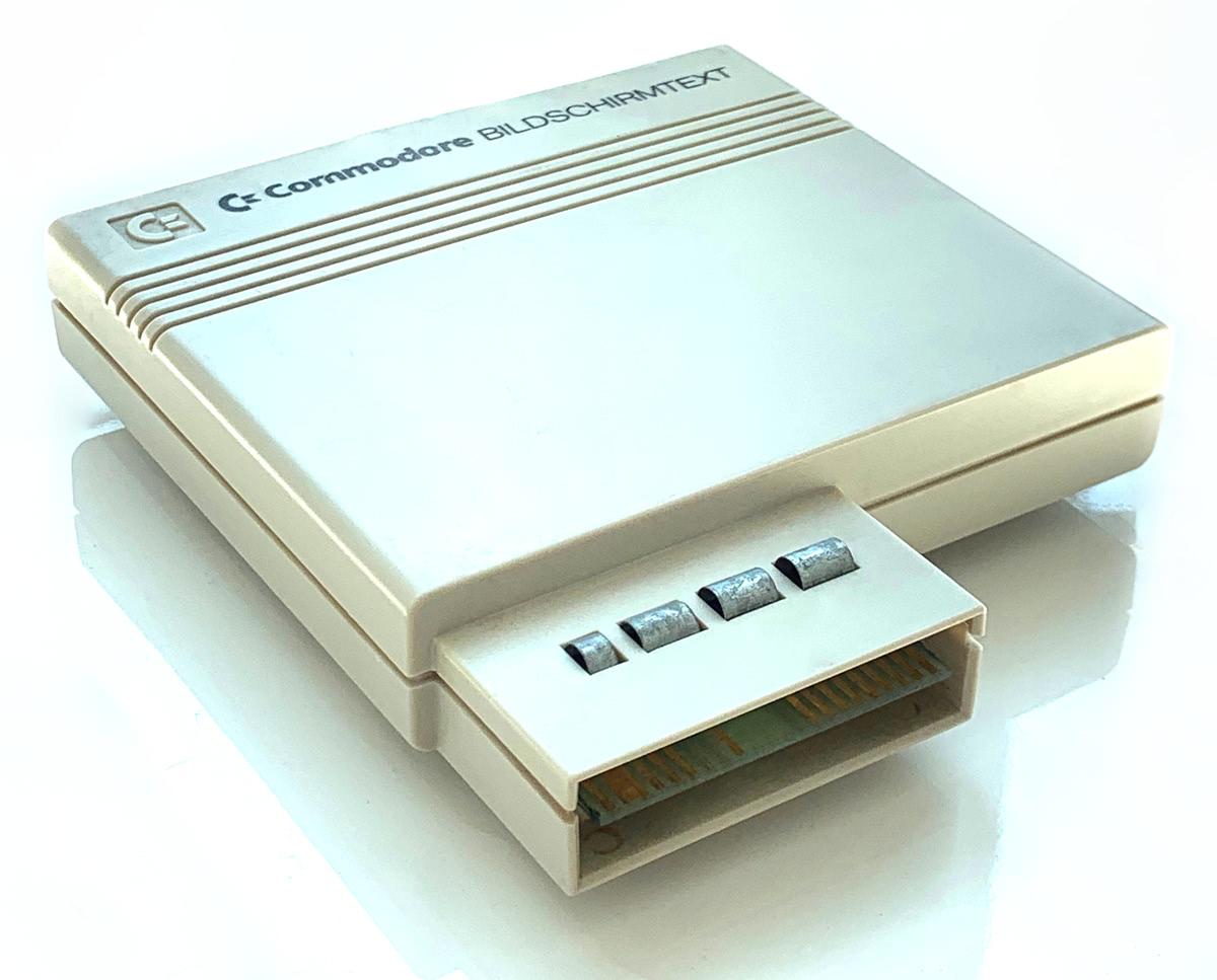 Commodore Bildschirmtext II Decoder Cartridge – pagetable com