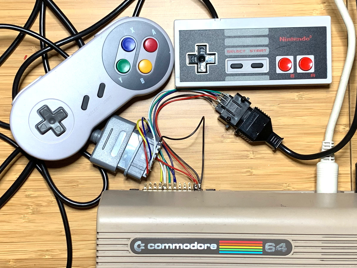 them to a C64 – or any 6502-