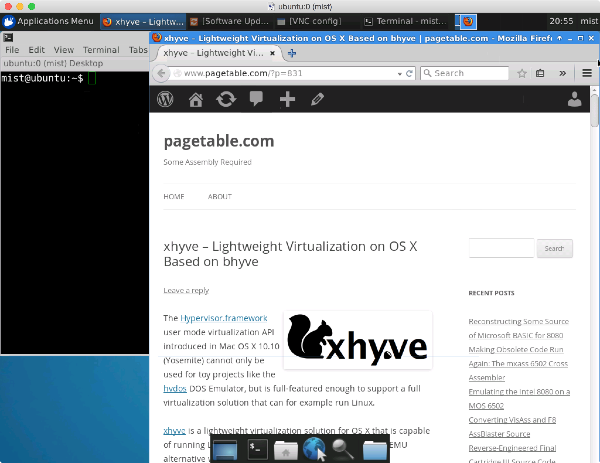 xhyve – Lightweight Virtualization on OS X Based on bhyve